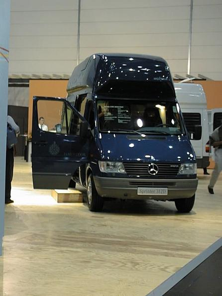Mercedes Sprinter extension from Westfalie In this Westfalia camping extension is practically relized, what I plan for my own van. Reason to see more of it.
