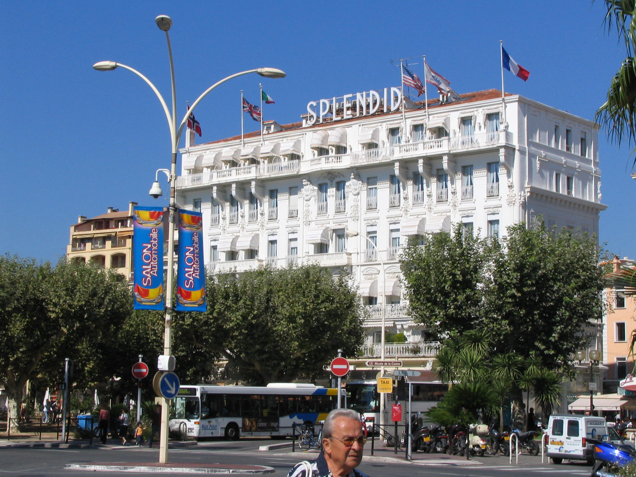 Splendid hotel cannes