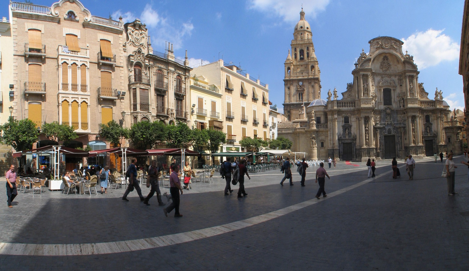 Cathedral Santa Maria in MurciaAfter 1238, Murcia occupied by the Moor ...
