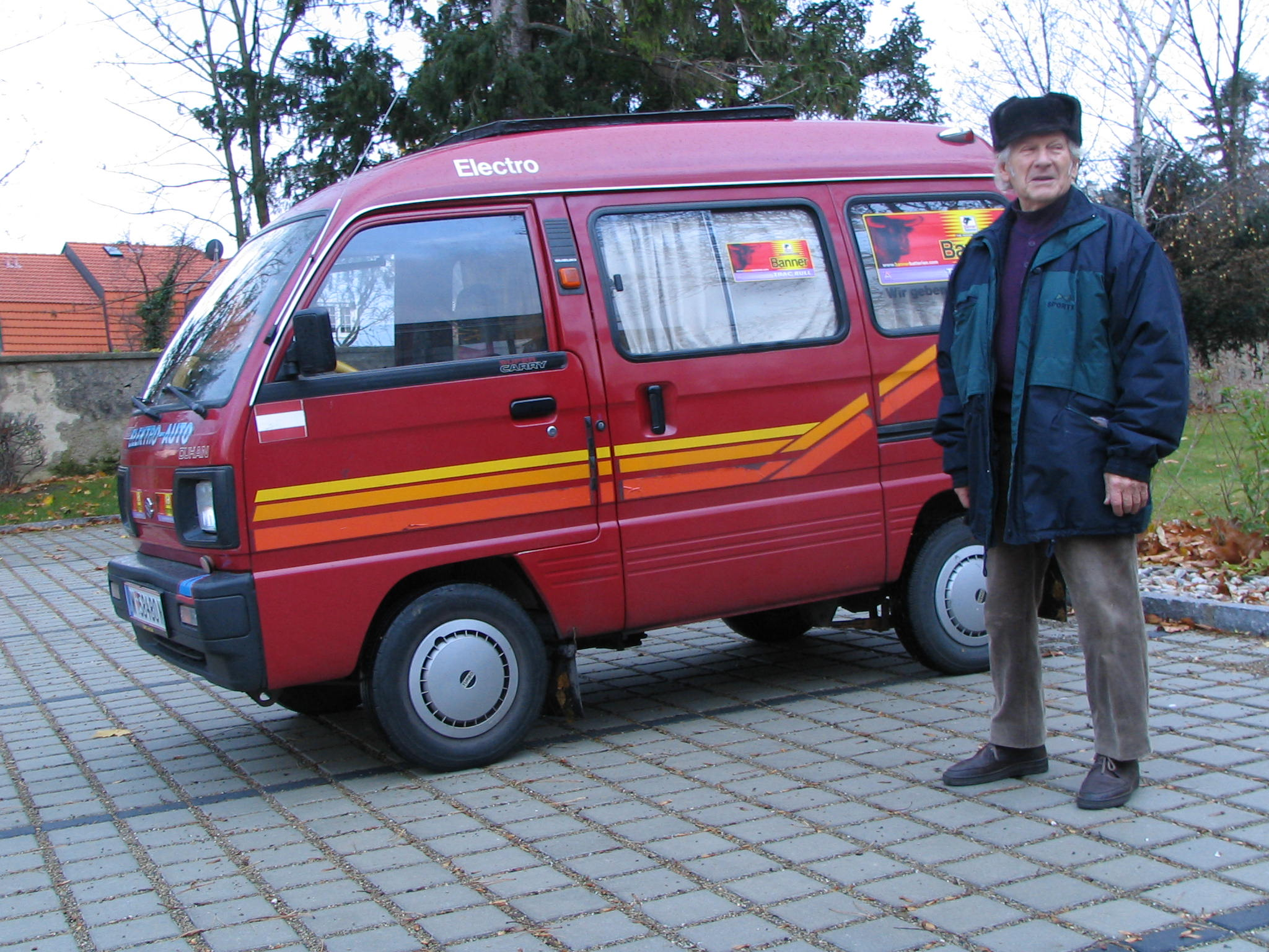 Suzuki Super Carry Camper