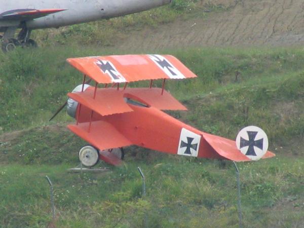 Aviones de caza alemanes de la PGM Roter-baron