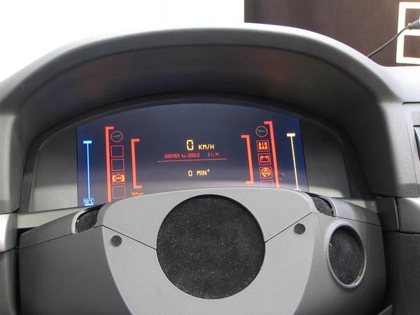 Car dashboard designs Round instruments are in an old-fashioned way and boringly? Who is just in this mood can select sometimes this dashboard.
