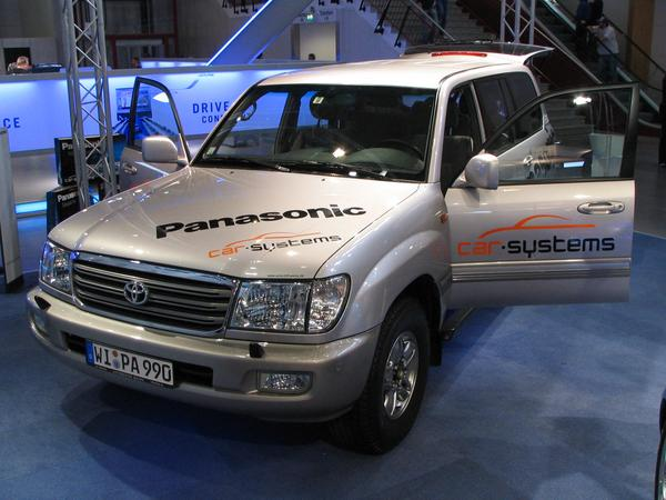 Panasonic car radio navigation without logbook joy for the Minister of Finance: a Toyota cross-country vehicle for more than 40,000 - EUR and the driver will not write himself a logbook. No help from Panasonic.