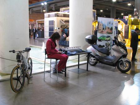 Woman discriminiation in Italy Directly with the fair entrance, 2 exhibits stood as a main attraction for the point urban mobility. Almost every visitor asks after engineering details.