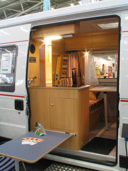 Fiat Ducato truck improvment for family Bavaria camp thinks with his Sol Y