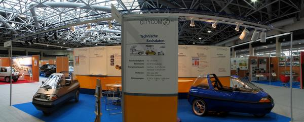 CityEl in Monaco Con el nuevo CityEl el consumo ha bajado considerablemente. Comparado con el model antiguo que consumia 8 kwh para circular 100km, el nuevo Factfour solo necesita 4-5 kwh.