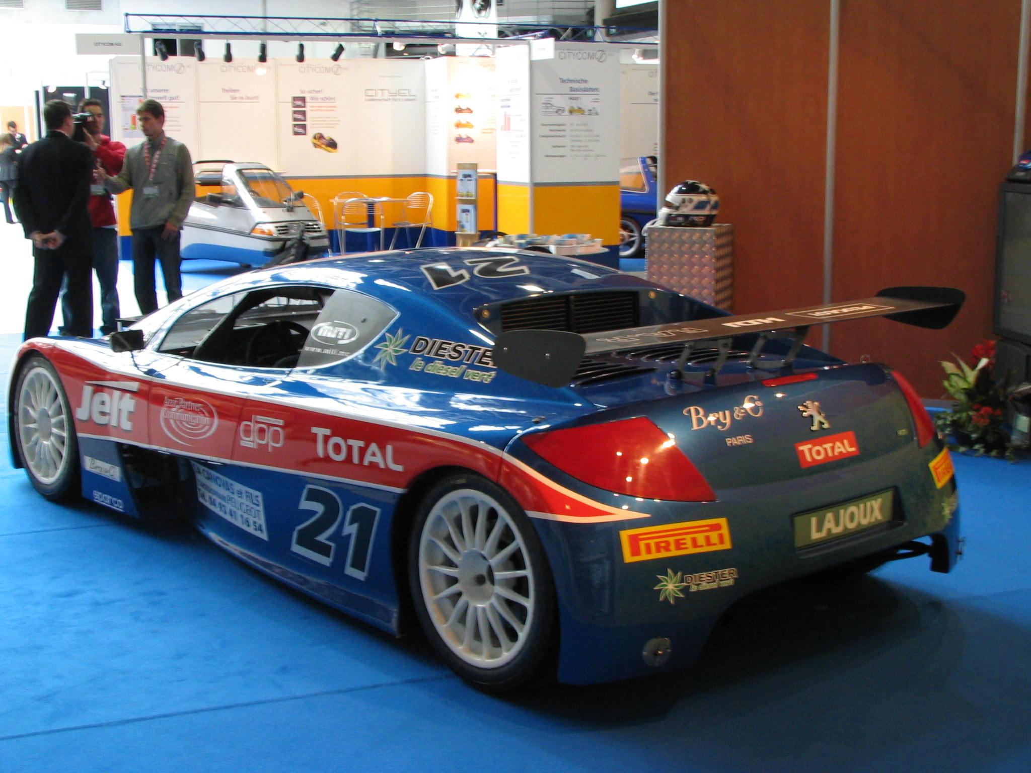 Biodiesel racing cars