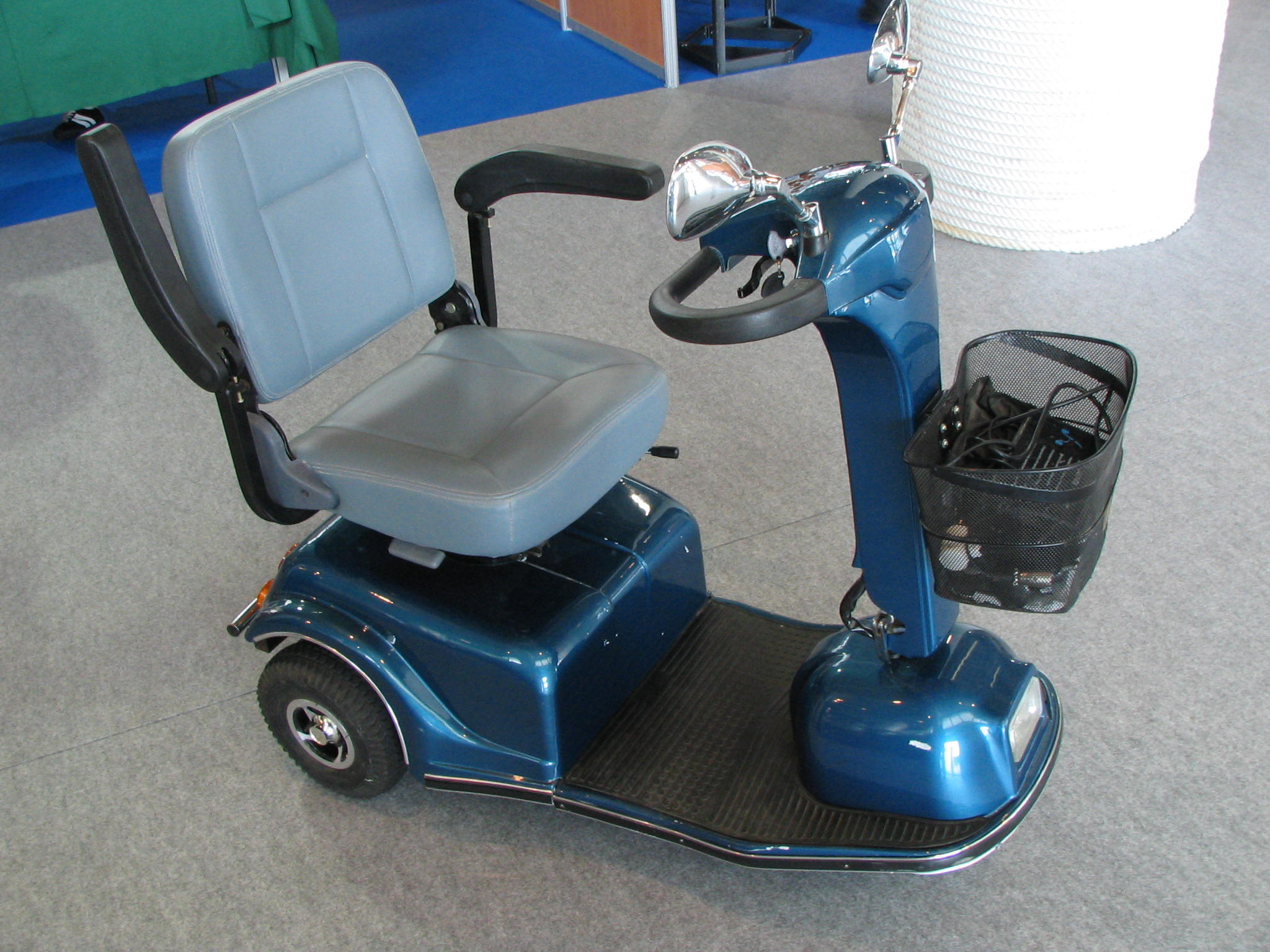 Mobile chair for walking disabled person