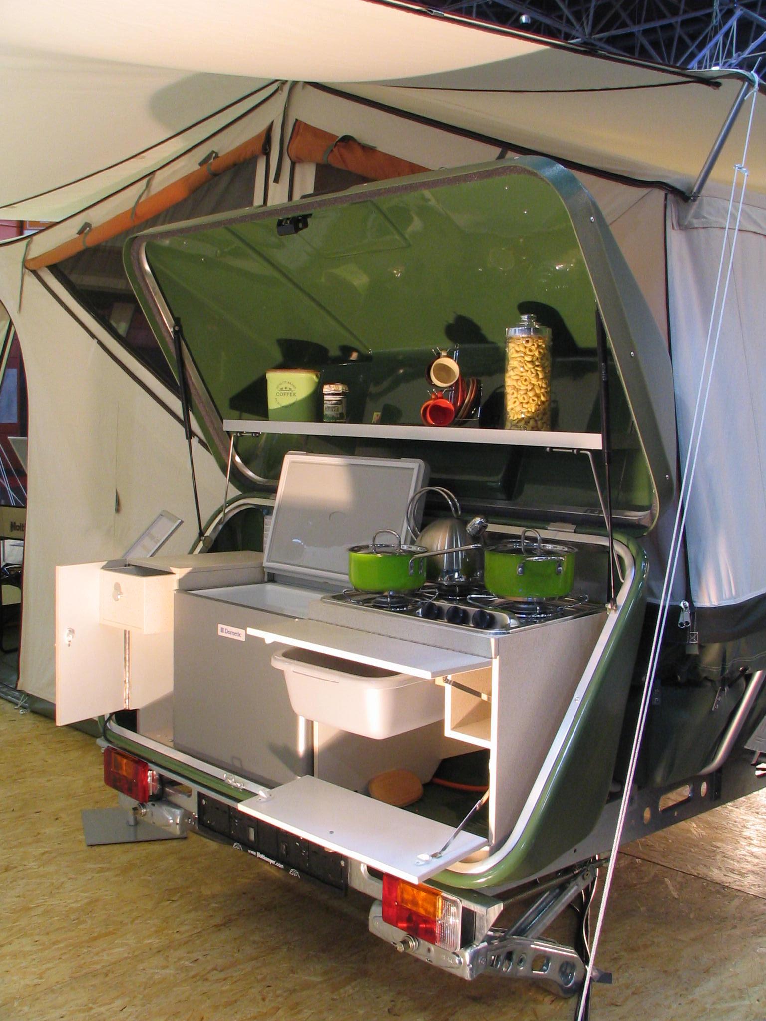 küchen für klappkaravans - Fahrbare Küche