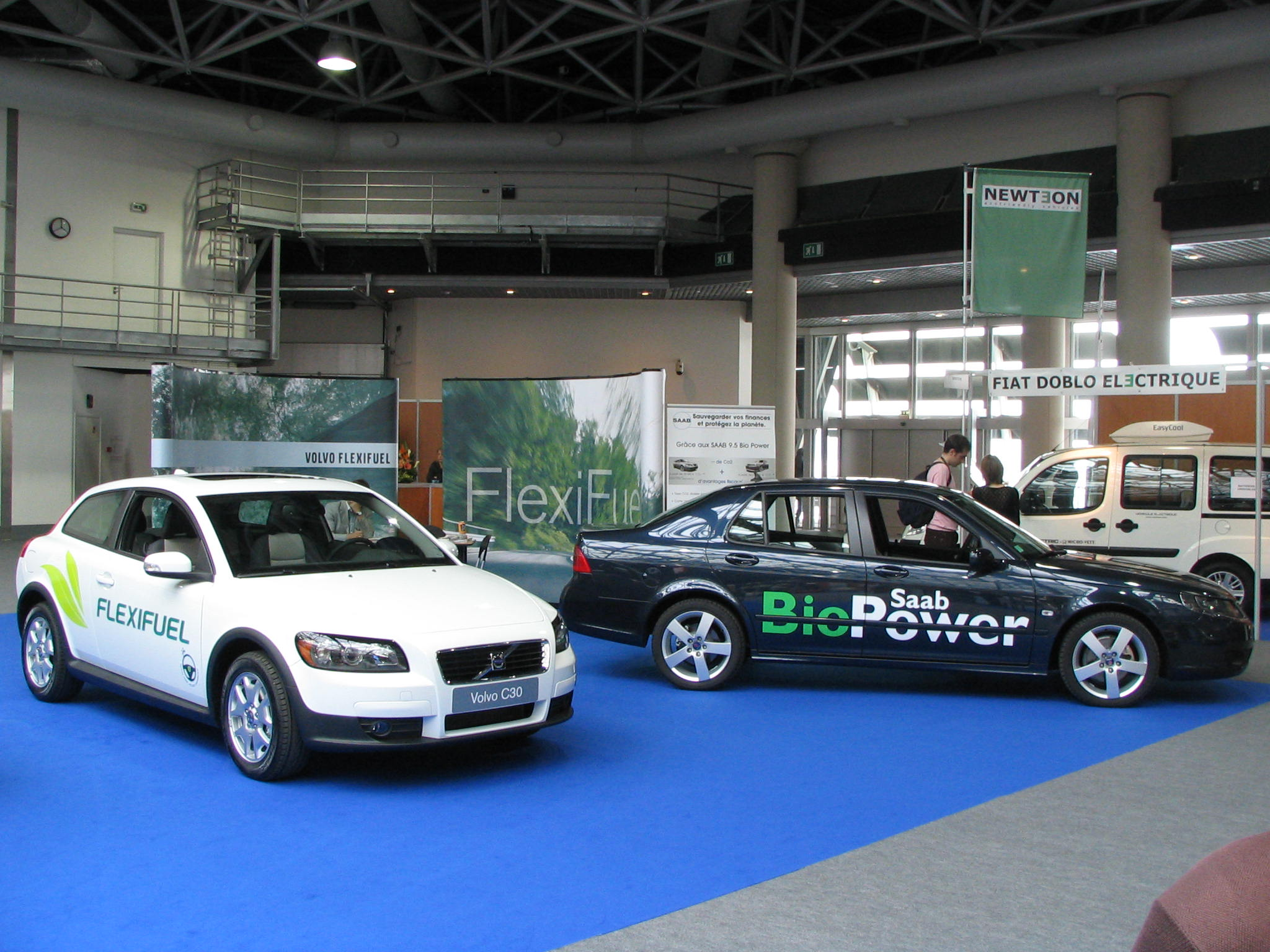 Saab Volvo with Ethanol