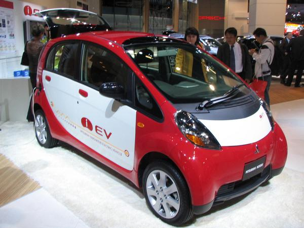Mitsubishi electric car iEV 130 km/h top speed and 160km range are enough for a small car. Refuel with cheap electric power in the own garage instead of wasting time at the gasoline station.