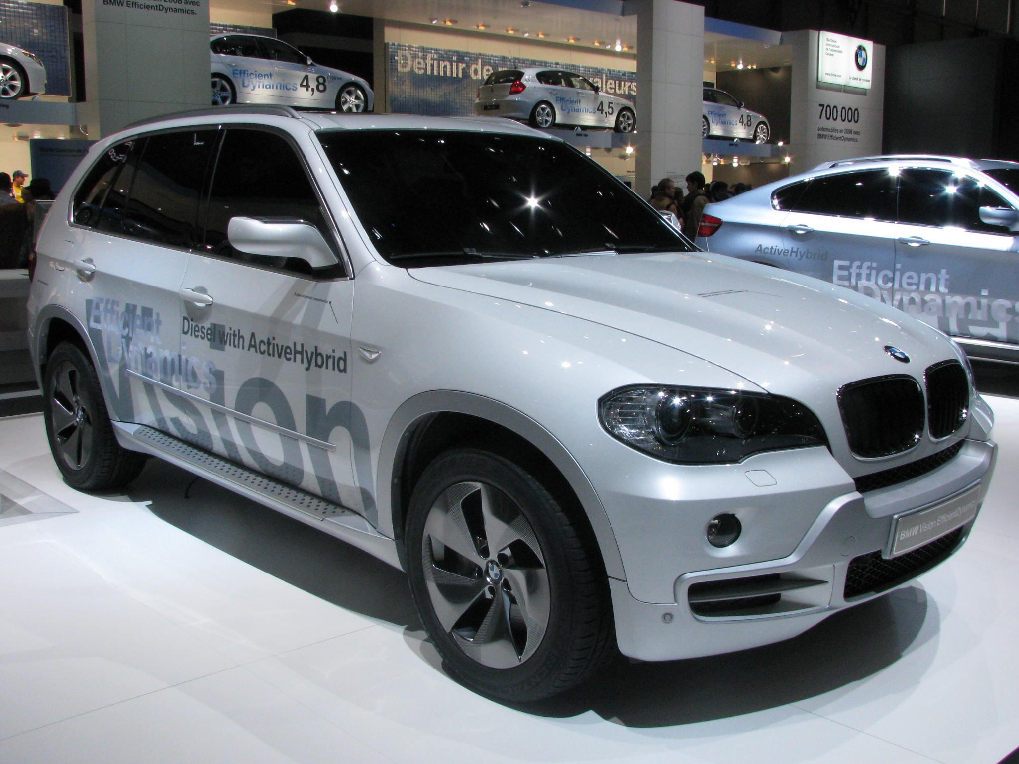 BMW Diesel active hybrid