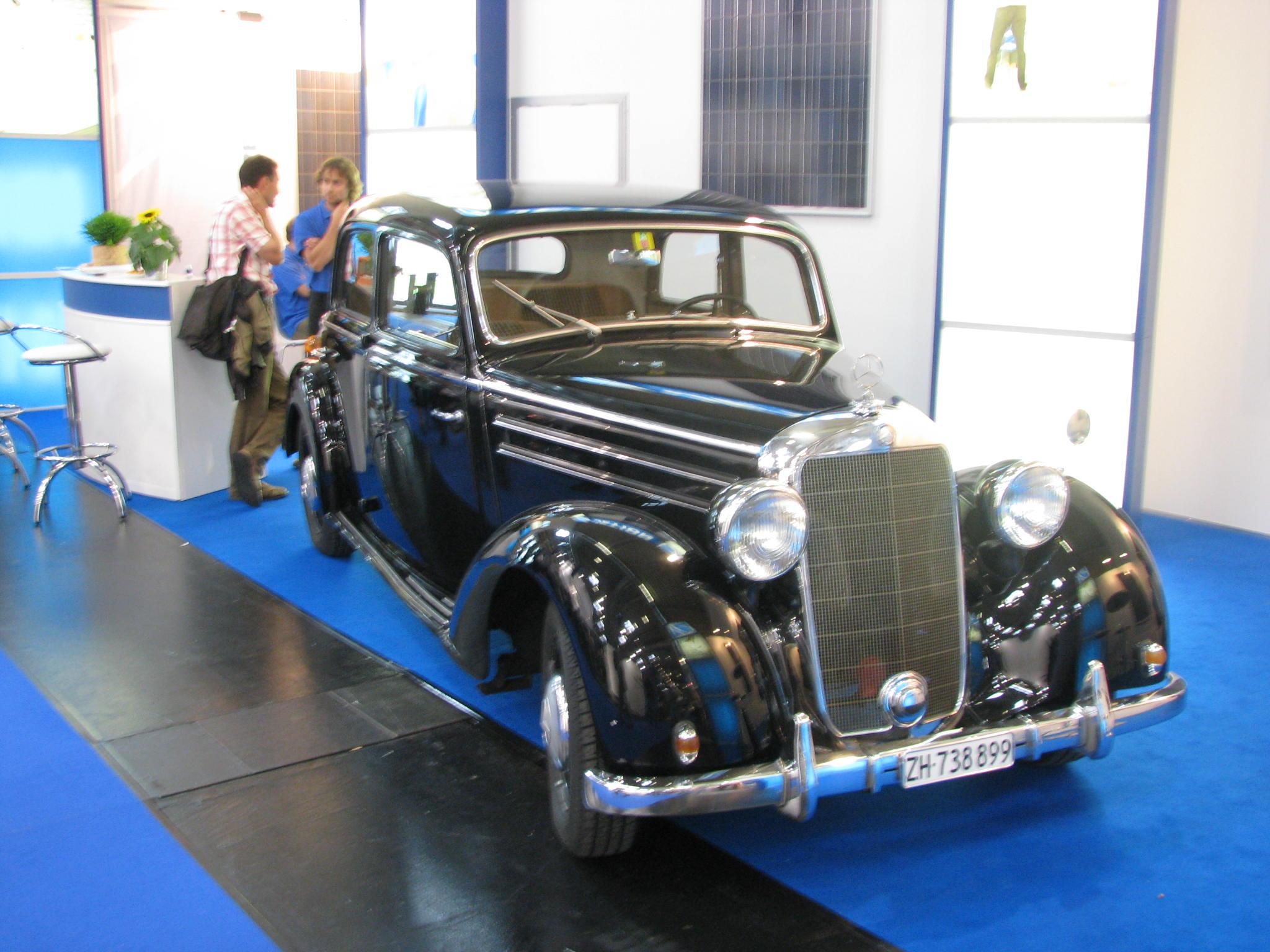 Oldtimer Mercedes 170D