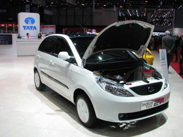 Tata Indica Vista electric car The car groups in the industrial countries stoped any progress so long, that they are now even overtaken from car vendors in development countries.