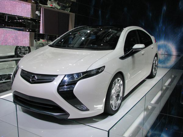Opel Ampera The study Opel Flextreme comes more close to serial production and is now called Ampera. Would Opel started this some years earlier, Opel would now have no sorrows.