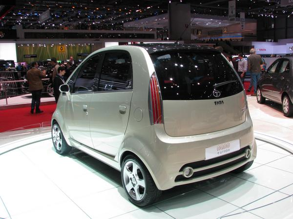 Tata Nano Europe electric power steering Electric power steering could be a hint, that the Tata Nano is prepared to be leater easy converted to an electric vehicle.