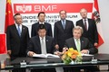 Denzel brings BYD to Austia Denzel brings chinese electric cars to Austria. Signing of a contract between Zhang Dejiang (vice prime minister Chinas) and KR Ing. Alfred Stadler (DENZEL CEO)