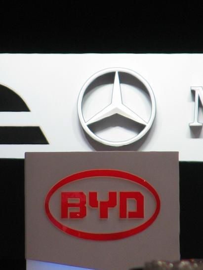 BYD cooperation with mercedes My first impression from BYD at the Geneva car salon 2008 was ''When the sun rises in the east, the stars dim''. It seems that BYD made also a strong impression at Mercedes.
