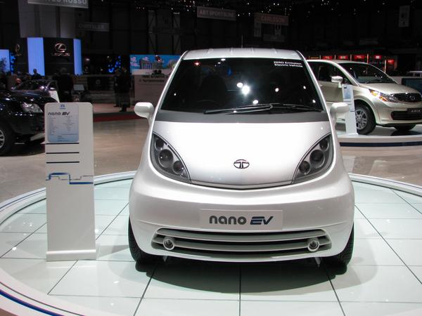 Tata Nano - 21st century duck The Europeans laughed 2008 about it., Version for Europe shown 2009. Now they have 2010 an electric version.