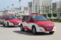 BYD e6 taxi fleet test in